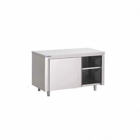 Table-armoire à portes coulissantes 1100X600X850 mm
