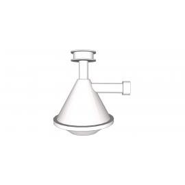 Groupe siphon 1 trou pour bacs et lave-mains