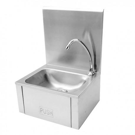 Lave mains inox complet avec accessoires