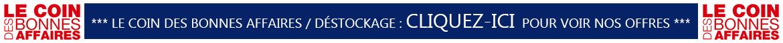 Coin des bonnes affaires de Clerinox / Déstockage