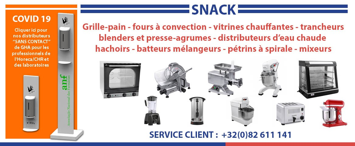 Banner snack Covid